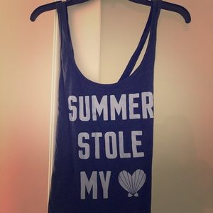 "Victoria's Secret ""Summer Stole My Heart"" pj top."